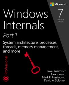 Windows internals 7th edition cover